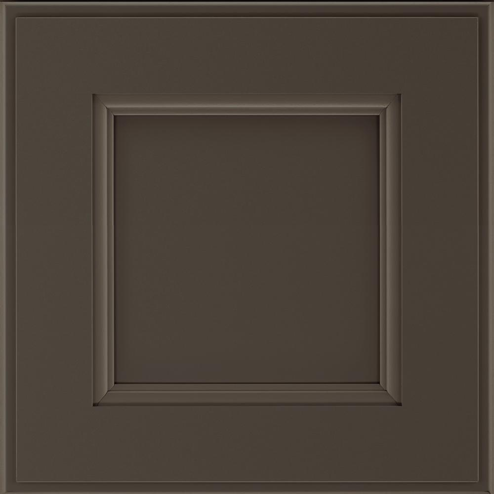14.5x14.5 in. Cabinet Door Sample in Roslyn Black Fox