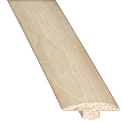 Steel 5/8 in. Thick x 2 in. Wide x 78 in. Length Hardwood T-Molding
