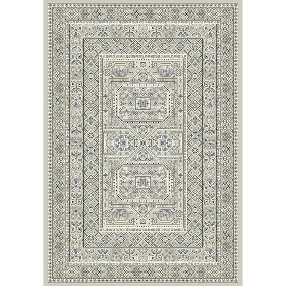 Ancient Garden Silver/Grey 8 ft. x 11 ft. Indoor Area Rug