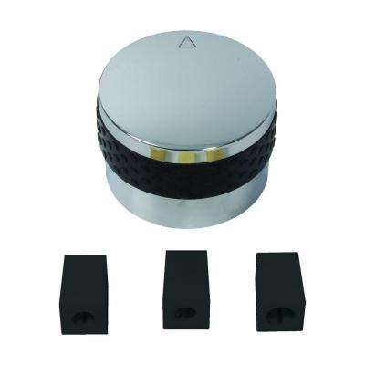 Plastic Control Replacement Knob with Adapters