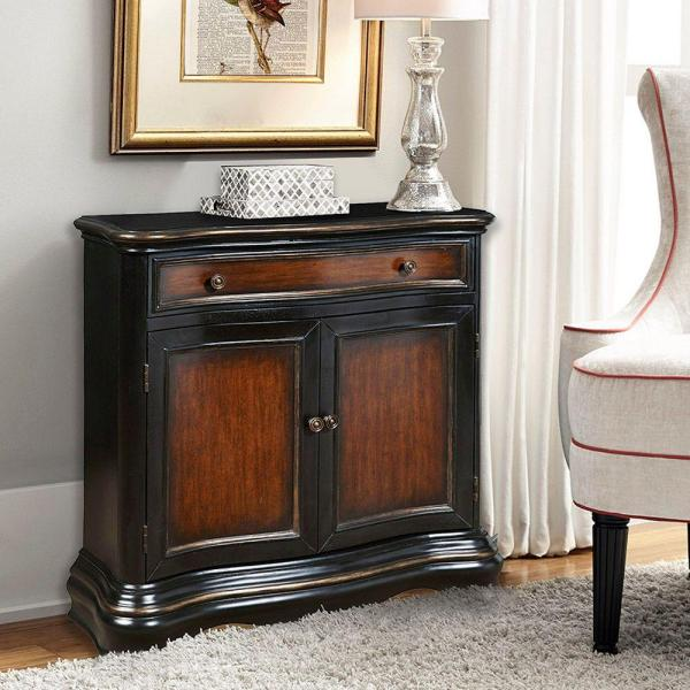 Pulaski Furniture Black Storage Cabinet DS-P017035