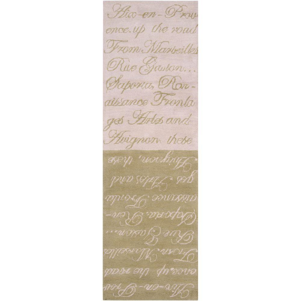 Artistic Weavers Windsor Rose Mist 2 ft. 6 in. x 8 ft. Runner