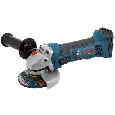 18 Volt Lithium-Ion Cordless Electric 4-1/2 in. Angle Grinder with L-Boxx-2 Hard Case (Tool-Only)