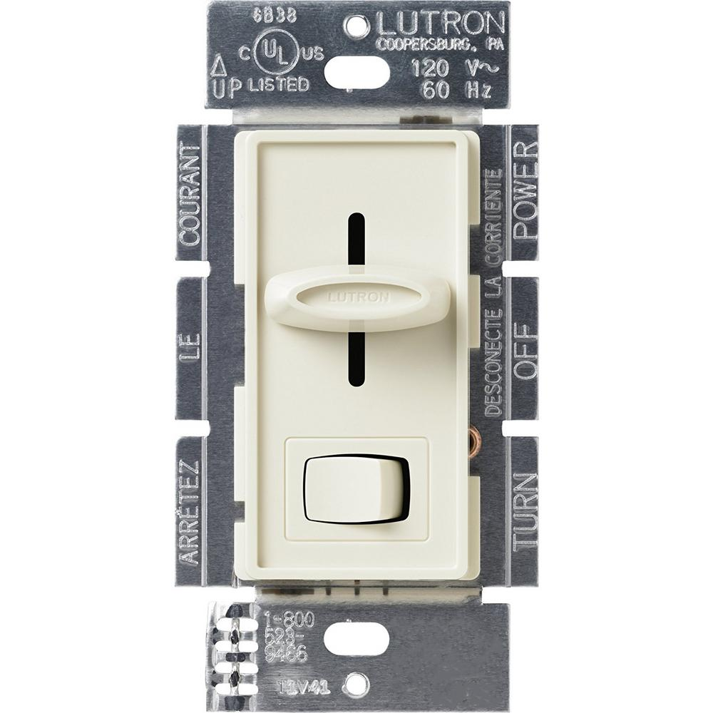 Skylark 1000-Watt 3 Way Preset Dimmer, Light Almond