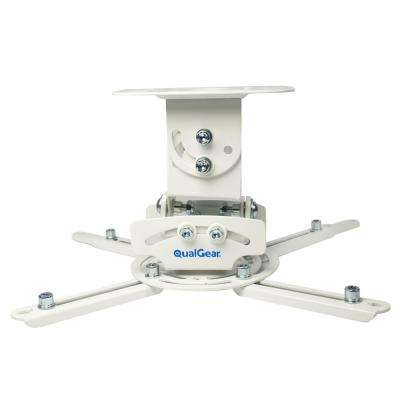 Universal Low-Profile Ceiling Mount Projector, White