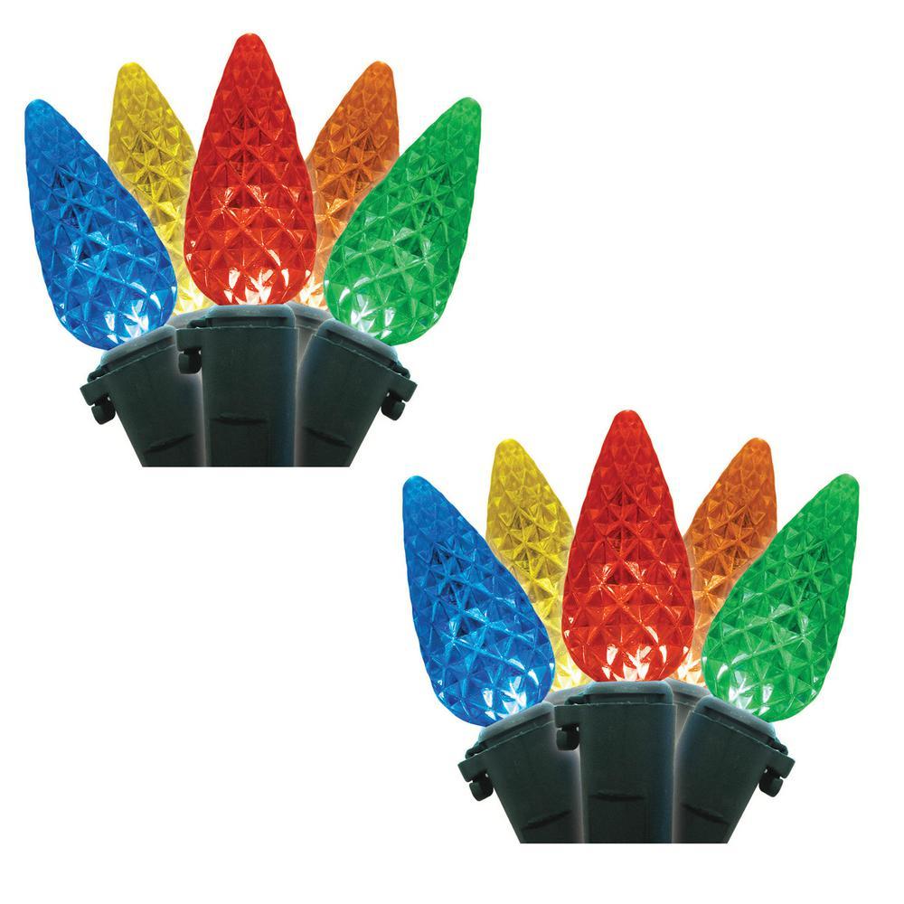 C6 35-Light LED Multicolor Lights (Box of 2)