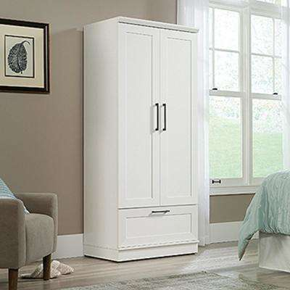 Genial Soft White Wardrobe/Storage Cabinet