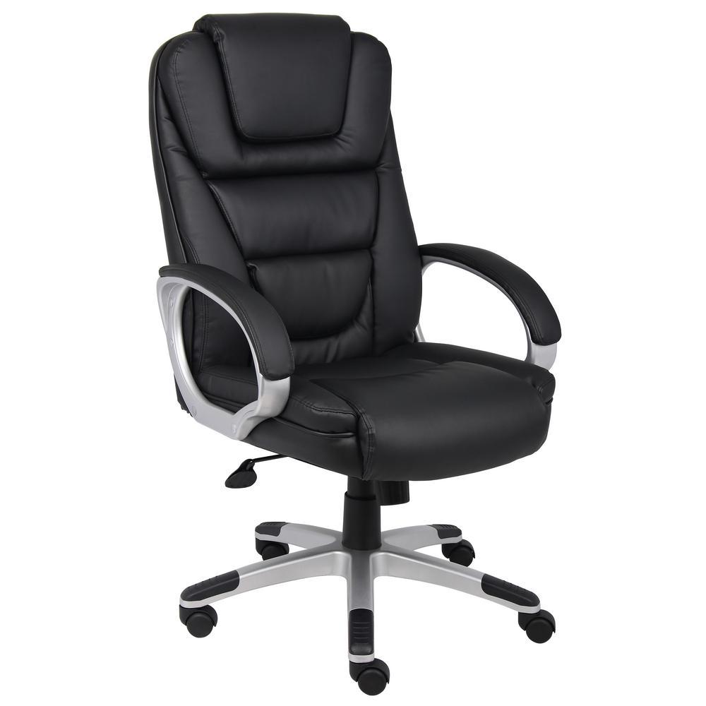 "Black ""NTR"" Executive LeatherPlus Chair"