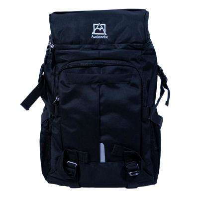 Avalanche 20 in. Black Provo Daypack Backpack, Top Load Design