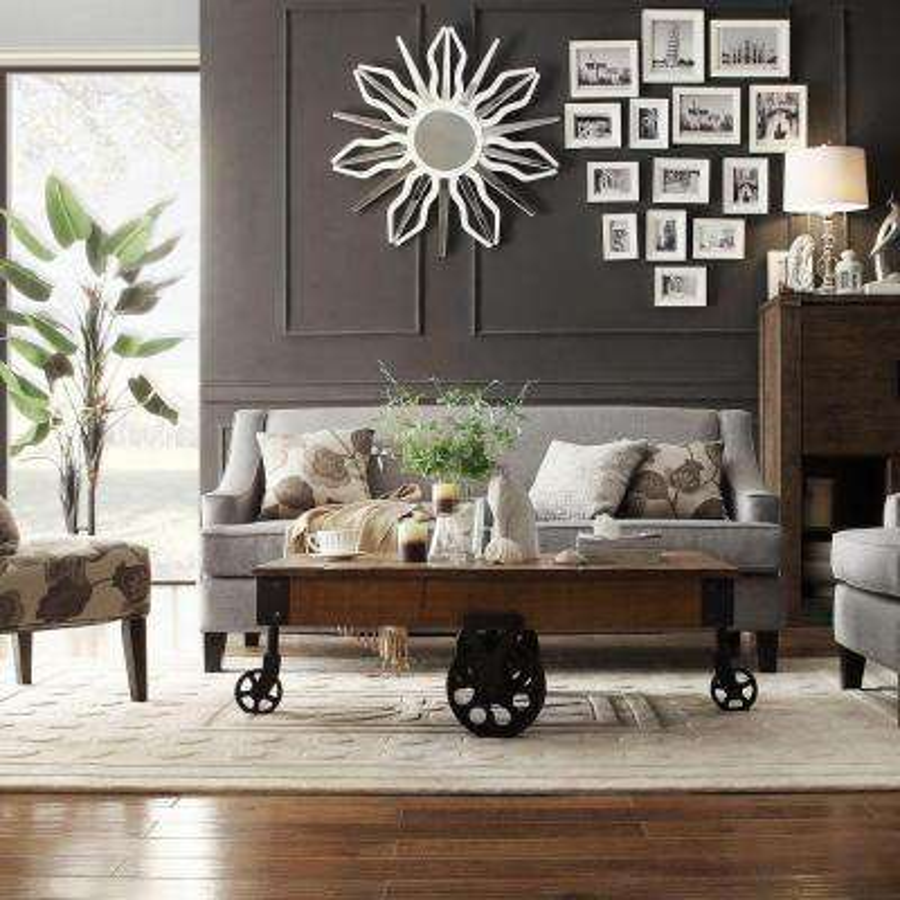 Watson Grey Linen Sofa