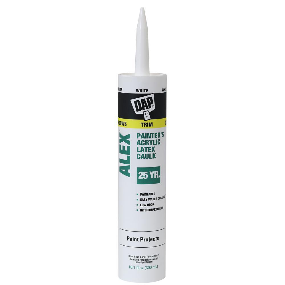 DAP Alex 10 1 oz  White Painter's All-Purpose Acrylic Latex