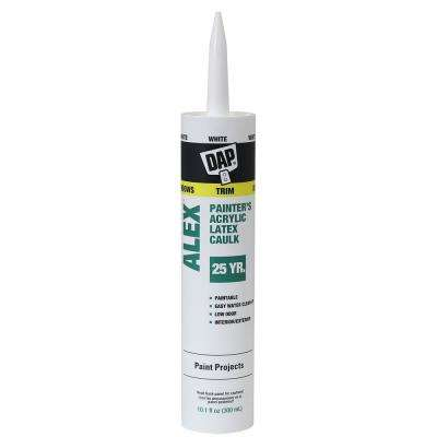 Alex Painter's 10.1 oz. White All-Purpose Acrylic Latex Caulk (30-Pack)