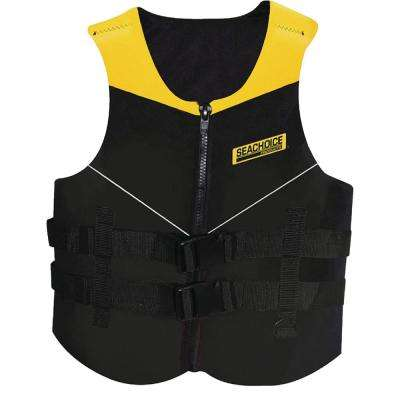 Adult 2X-Large Multi-Sport Life Vest, Yellow