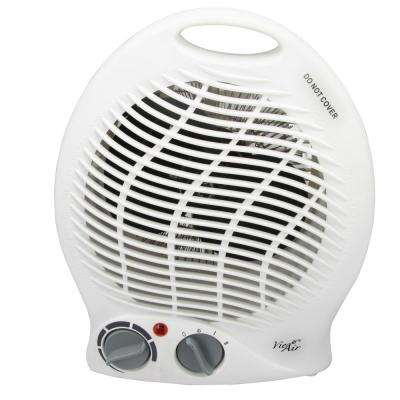 1,500-Watt 2-Settings Portable Fan Heater with Adjustable Thermostat