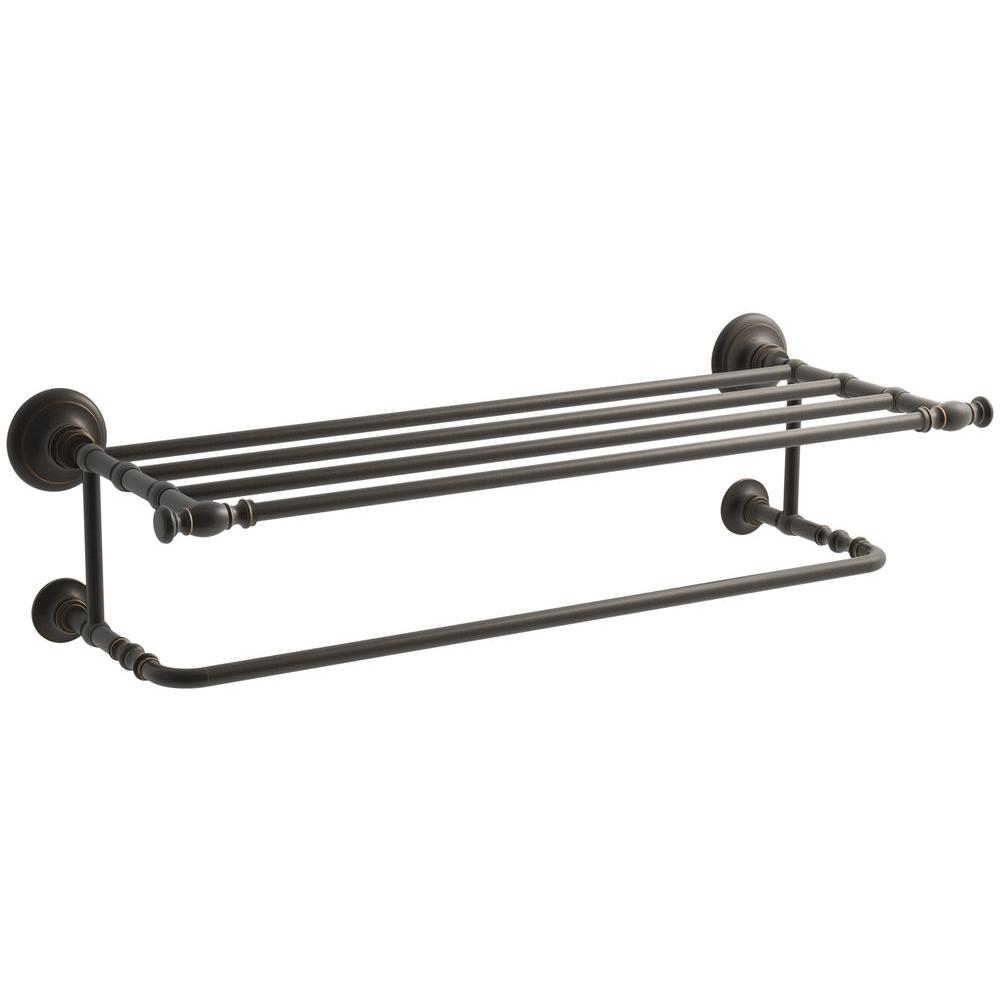 Kohler Artifacts Hotelier Towel Rack In Oil Rubbed Bronze K 72575