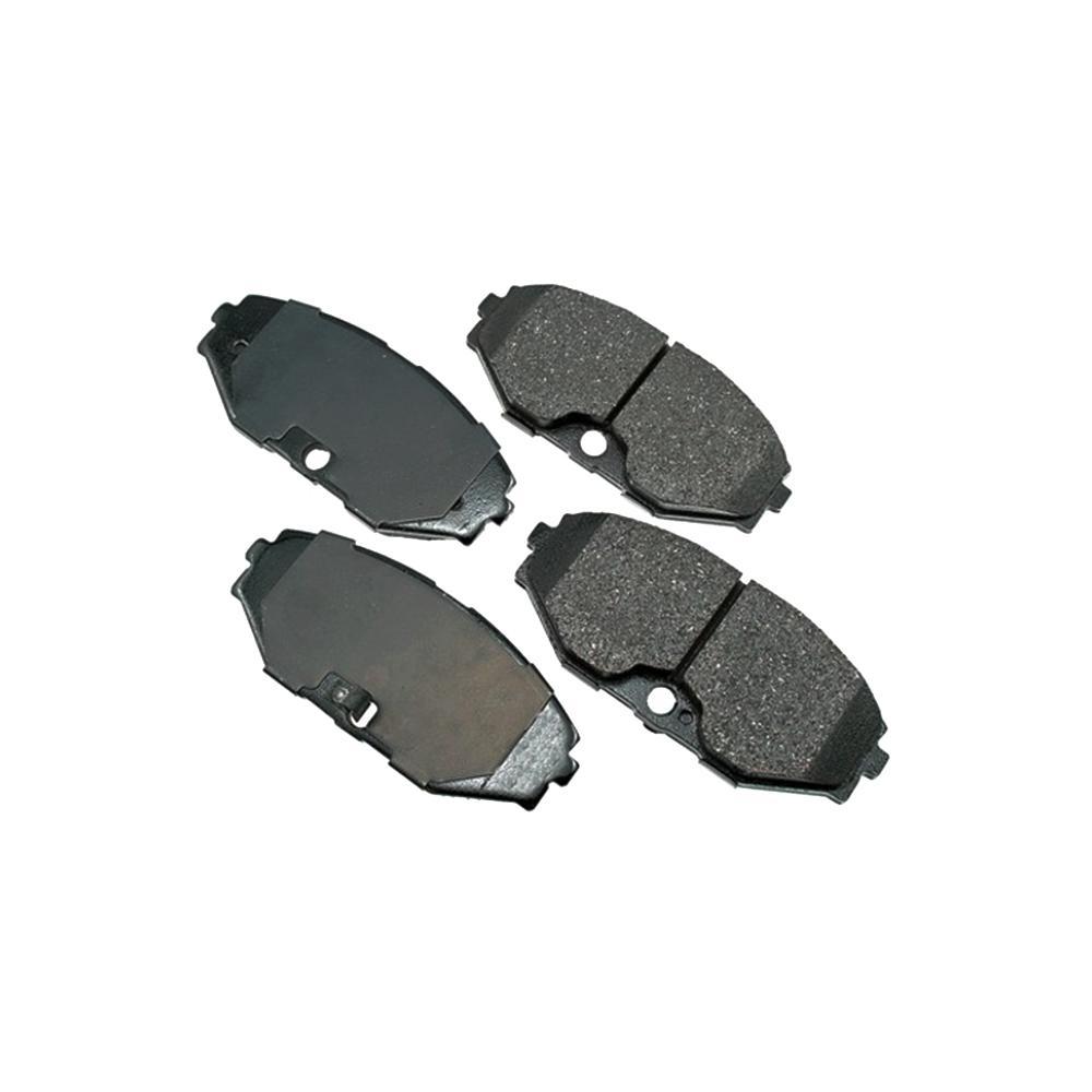 ECCPP FA417//4 FA192 Brake Pads Front and Rear Kevlar Carbon Fiber Replacement Brake Pads Kits Fit for 2007-2008 Kawasaki Z1000,2011 Kawasaki Z750R