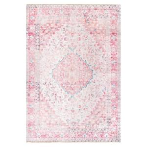 Patsy Persian Medallion Pink 8 ft. x 12 ft. Area Rug
