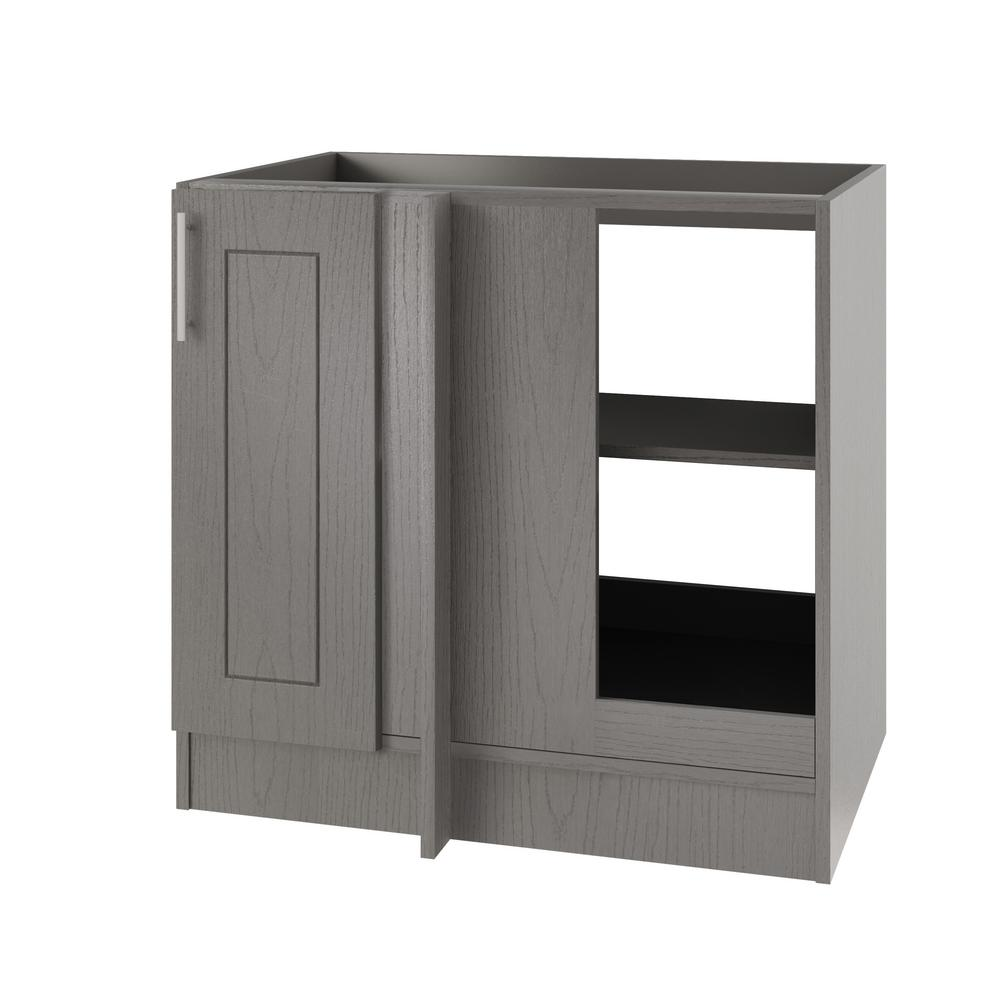 Palm Beach Open Back Blind Outdoor Base Corner Cabinet Full Height Doors Right R 6102 Product Photo