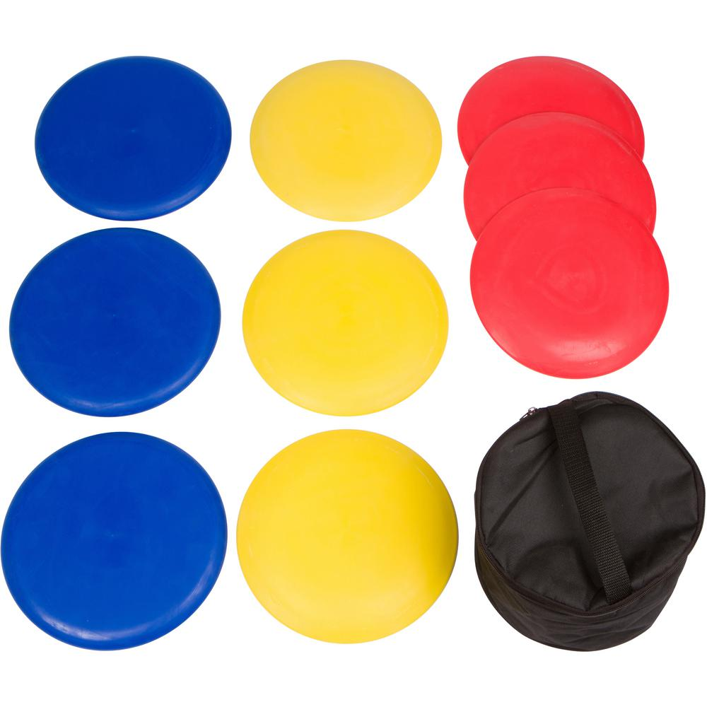 Trademark Innovations 9 Piece Disc Golf Set With Carry Bag