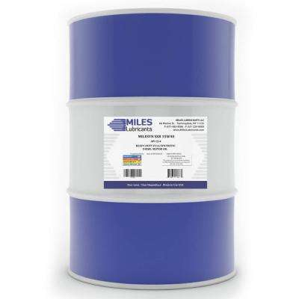 Milesyn SXR 15W-40 API CK-4, 55 Gal. Full Synthetic Diesel Motor Oil Drum
