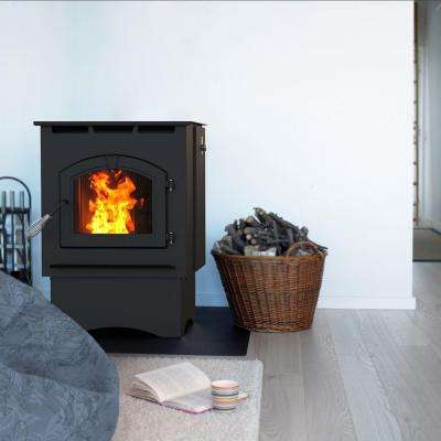 1,750 sq. ft. Pellet Stove with 40 lb. Hopper and Auto Ignition