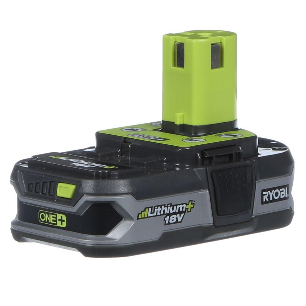 Ryobi 18-Volt ONE+ Lithium-Ion Compact Lithium+ Battery Pack 1.5Ah