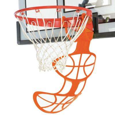 Hoop Chute 26.6 in. Basketball Return Accessory in Orange