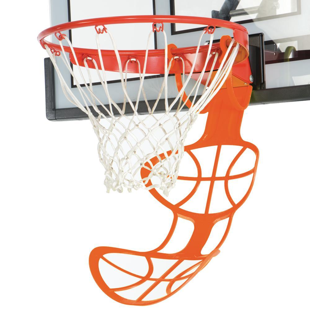 Hoop Chute 26.6 in. Basketball Return Accessory in Orange