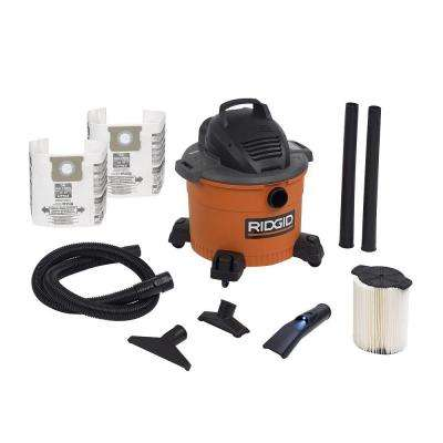 9 Gal. Wet/Dry Vacuum with Bonus LED Lighted Car Nozzle and Free Dust Bags
