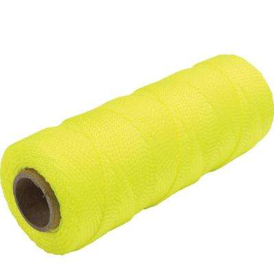 500 ft. Fluorescent Yellow Braided Nylon Mason's Line
