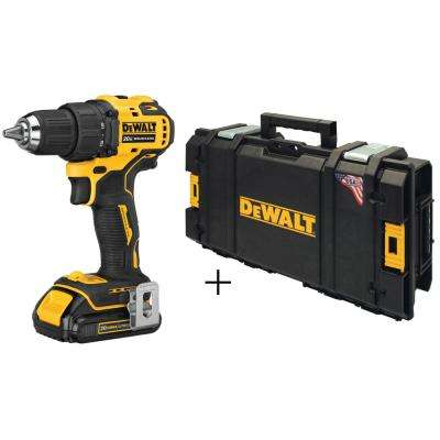 ATOMIC 20-Volt MAX Lithium-Ion Brushless Cordless Compact 1/2 in. Drill Driver with Free Toughsystem Case