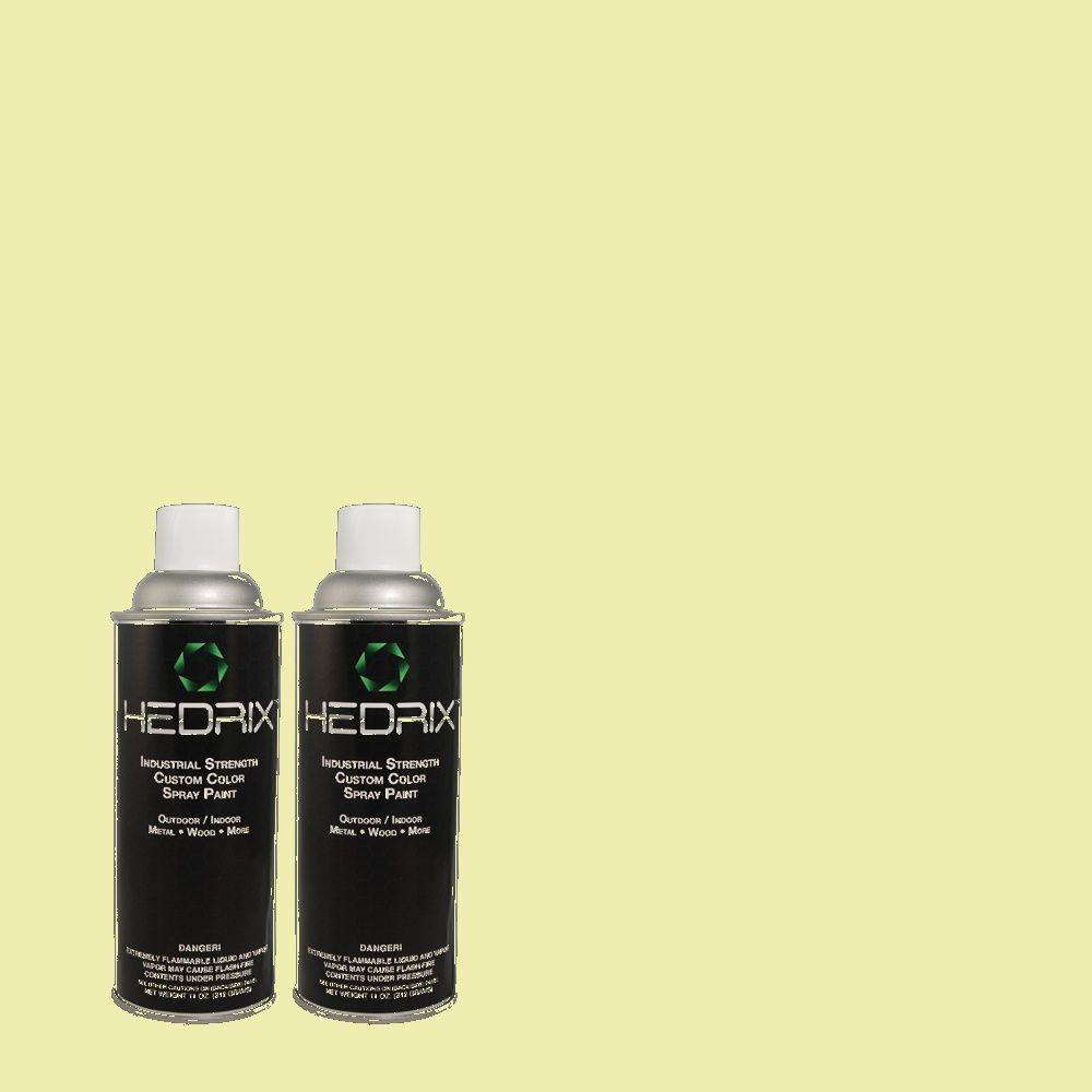 Hedrix 11 oz. Match of 1B60-2 Shamber Flat Custom Spray Paint (2-Pack)