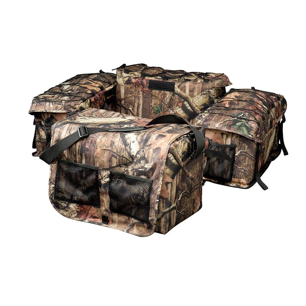Deluxe Mossy Oak Infinity Camouflage ATV Rack Bag