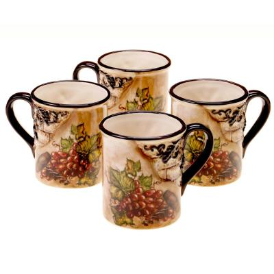 Tuscan View 16 oz. Mug (Set of 4)