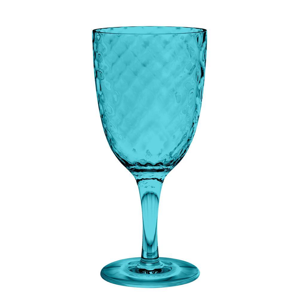 6-Piece Azura Aqua Goblet Set