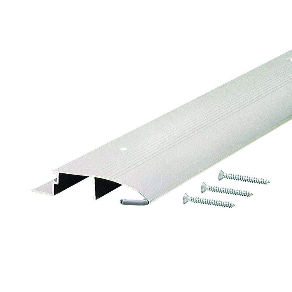 Low 3-1/2 in. x 72 in. Aluminum Bumper Threshold