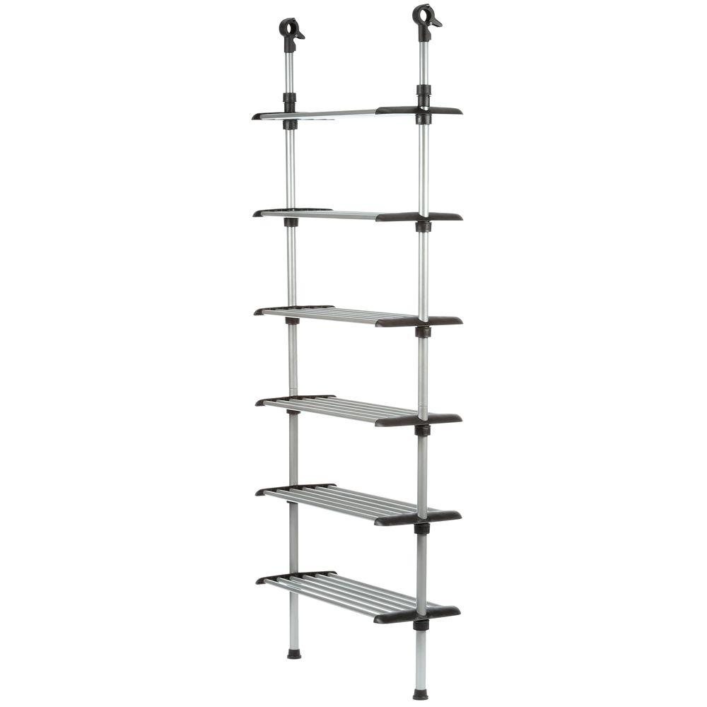 Superb Whitmor Supreme Garment/Closet Collection 25.5 In. X 61 In. 6 Shelf