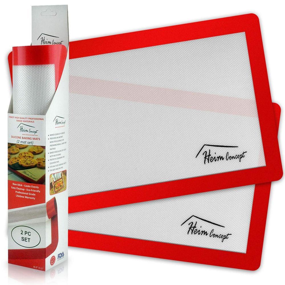 1a83c9c6bb06 Heim Concept Premium 2-Piece Silicone Non-Stick Baking Sheets HC3833 ...
