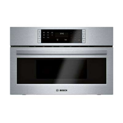 500 Series 30 in. 1.6 cu. ft. Built-In Microwave in Stainless Steel with Drop Down Door and Sensor Cooking