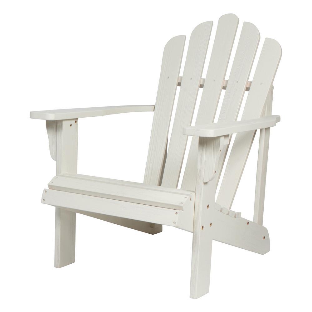 Heavy Duty Sun Lounger, Shine Company Westport Ii 36 In Tall Eggshell White Cedar Wood Hydro Tex Finish Adirondack Chair 4621ew The Home Depot