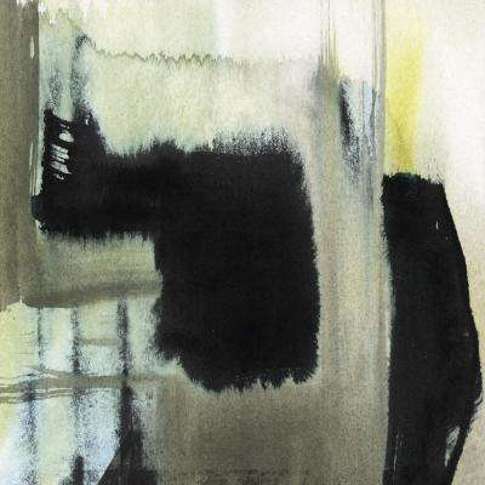 """84 in. x 84 in. """"Obscured Plane II"""" by Jennifer Goldberger Canvas Wall Art"""
