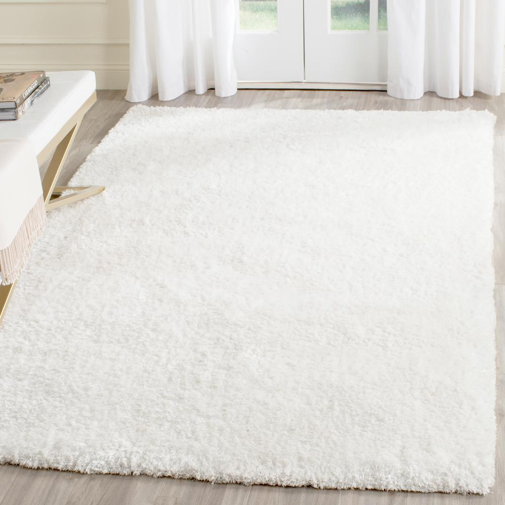 Safavieh Toronto Shag White 8 Ft X 10 Ft Area Rug