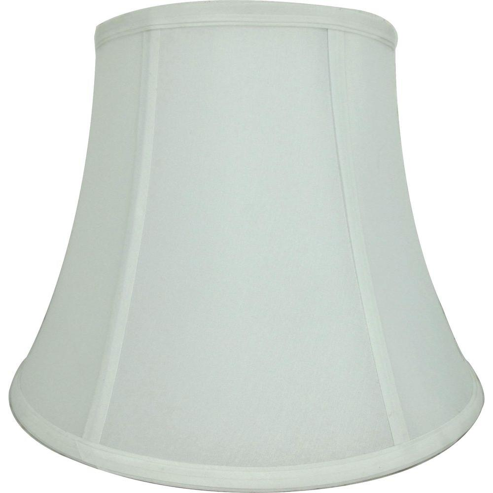 Black lamp shades lamps the home depot mix amp match white round bell table shade aloadofball Images