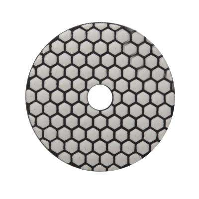 4 in. 3000 Grit Resin Dry Polishing Pad