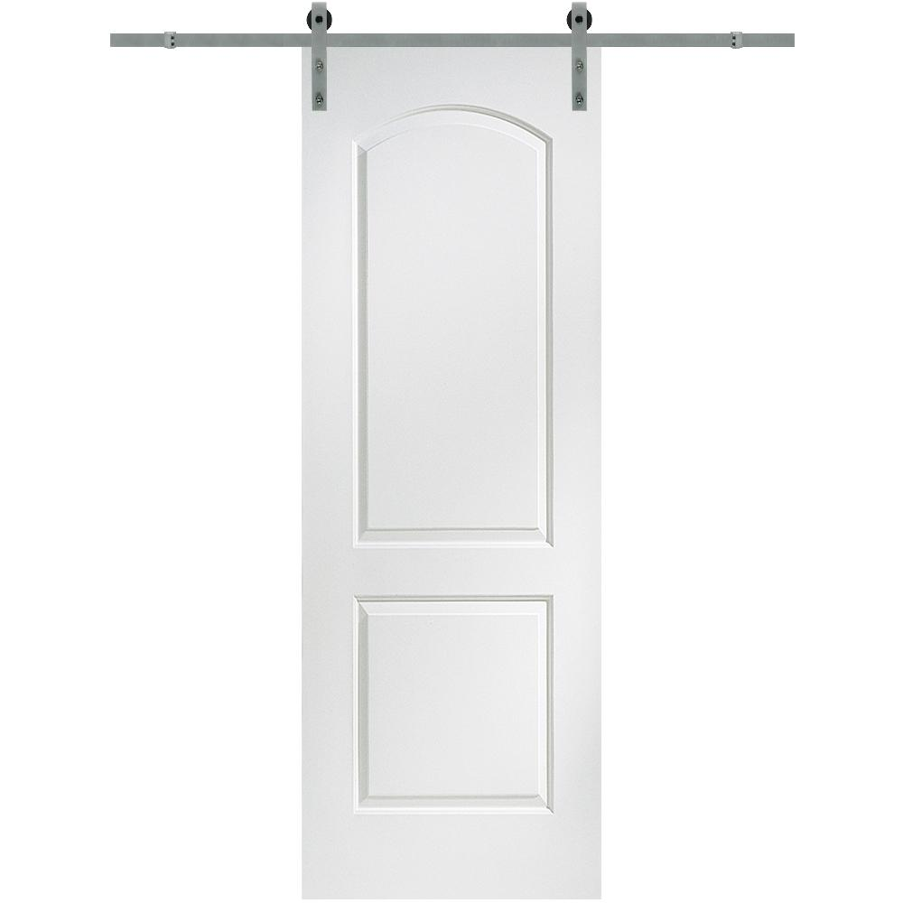 MMI Door 32 in. x 96 in. Continental Molded Solid Core Primed MDF Smooth