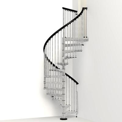 Enduro 55 in. Galvanized Steel Spiral Staircase Kit