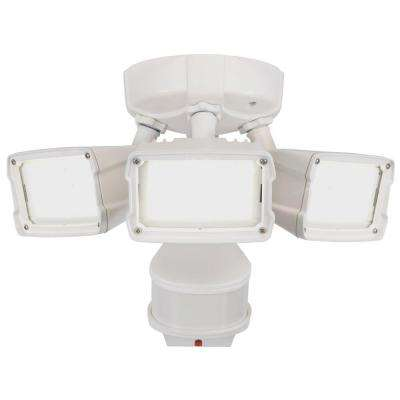 270 Degree White Doppler Motion Activated Outdoor LED Security Flood Light