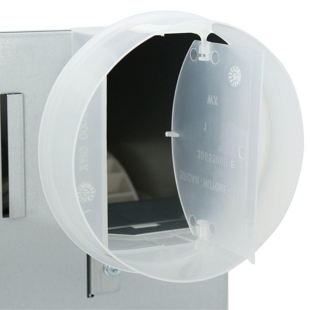 NuTone 70 CFM Ceiling Bathroom Exhaust Fan with Light, White Grille on