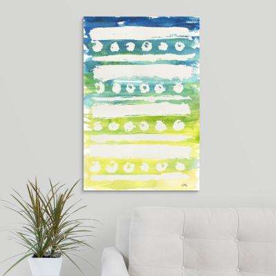 """Watercolor Pattern IV"" by  Elizabeth Medley Canvas Wall Art"