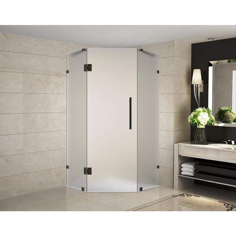 Neoscape 42 In. X 42 In. 72 In. Frameless Hinged Neo Angle